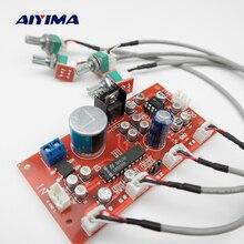 AIYIMA LM1036 톤 보드베이스 트레블 밸런스 볼륨 컨트롤 조정 NE5532 OP 앰프 HIFI 프리 앰프 앰프 단일 전력