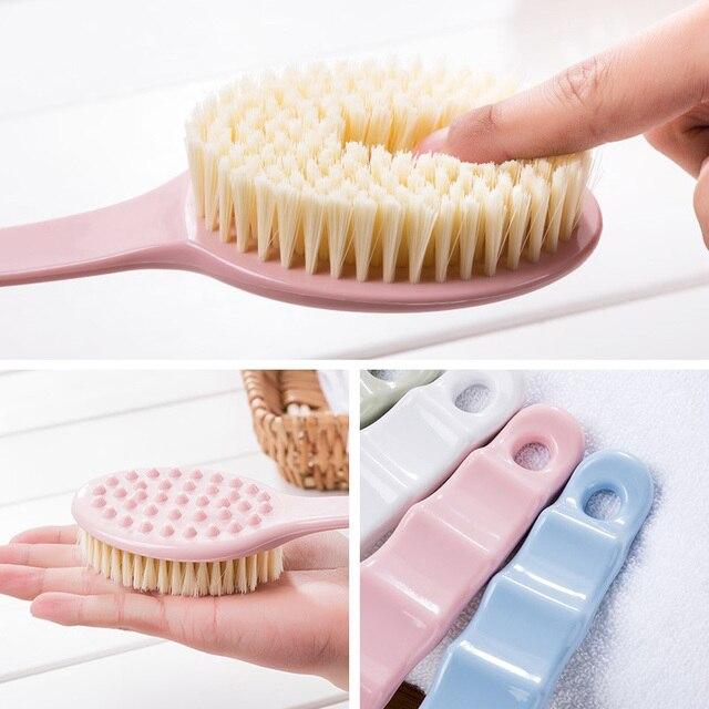 Body Back Scrubber Exfoliating Long Handled Bath Shower Brush for Men Women 789 3