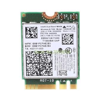 WiFi inalámbrico de 1000Mbps de banda Dual 04X6008 7260NGW una Bluetooth 4,0 para Lenovo ThinkPad T440 T440p W540 L440 L540 X240s C26