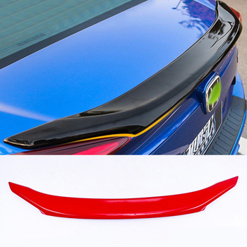 ABS Plastic Rear Trunk Boot Wing Lip Spoiler Car Styling Accessories Fit For Honda Civic Spoiler 10th 2016 2017 2018 2019