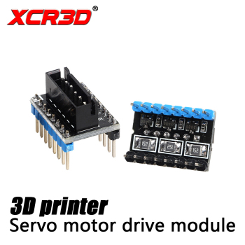 цена на XCR3D 3D Printer accessories External servo motor drive Module for servo motor drive 3D Printer Board Adapter Module 4pcs/lot