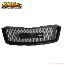 For 2007-2012 GMC Sierra 1500 2500 Light Duty Upper Front Round Hole Grille Black USA Domestic Free Shipping Hot Selling