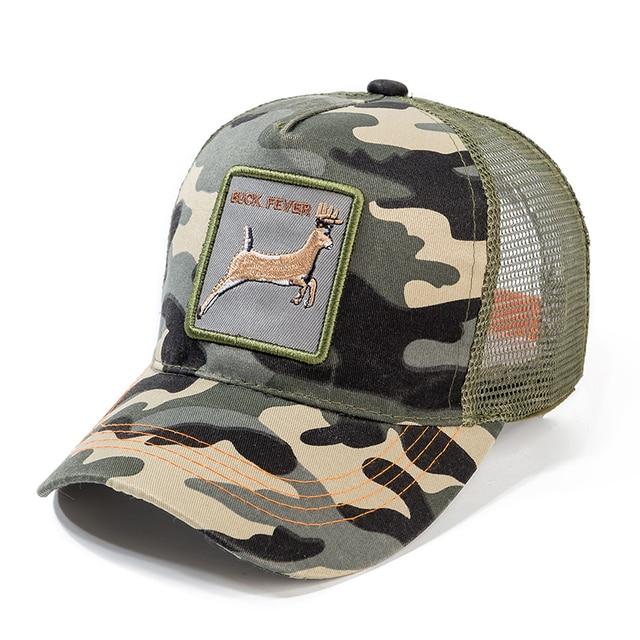 High Quality 12 Styles Animals Baseball Cap Cotton Breathable Mesh Snapback Caps Sun Hat For Women Men Bone Hip Hop Dad Hat 1
