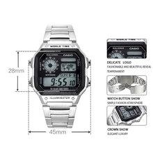 100M Waterproof Casio Sports Watch