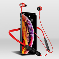 Auricular inalámbrico con Bluetooth, dispositivo de audio de alta fidelidad, con succión magnética, sonido de calidad, estéreo, impermeable, inalámbrico de deporte, con micrófono, CA, nuevo