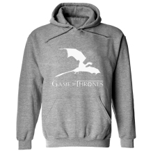 Game Of The Throne Print Women Sweatshirt Hoodie