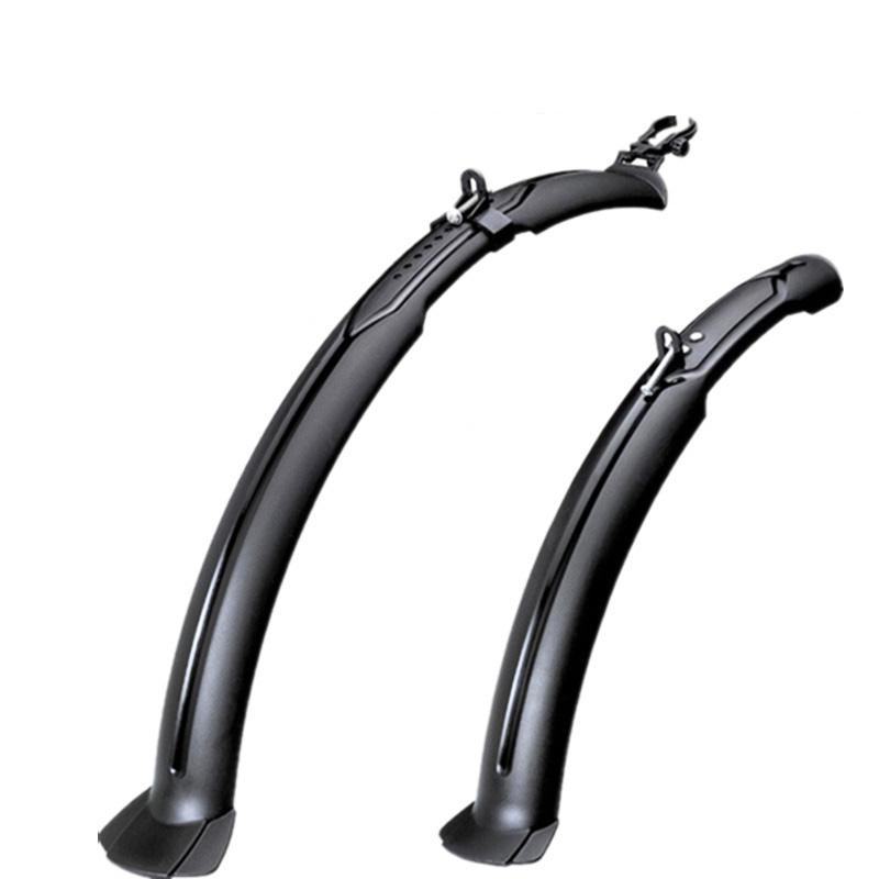 24 26 27 Inch MTB Mudguard Bike Fenders Bicycle Accessories Cycling Plastic Quick Release Road Front Mountain Bike Rear Fender