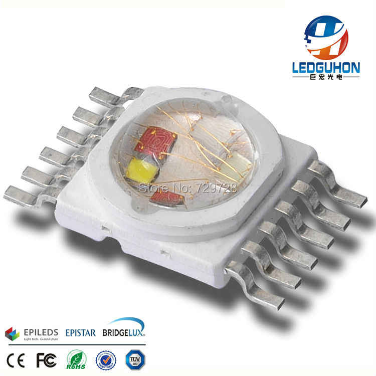 sell 6 in 1 with 12w RGBWYV  led diode