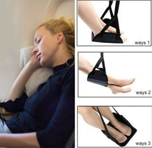 Airplane Footrest Hammock Comfy-Hanger Travel Office3.74 with Premium Memory-Foam