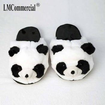 Cotton Plush Special Indoor Soft panda Shoes Men&Women Slippers custom Slipper Cottoon Slipper floor lovers shoes Winter Warm 1
