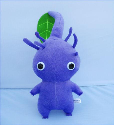 New Pikmin Plush Doll Purple With Leaf Toy Pikmin Plush Pikmin