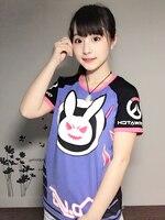 Free Shipping LOVELY Rabbit Tee Shirt Game Character DVA T Shirt Men S Tee Shirt D