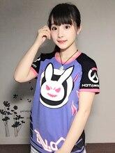 Kostenloser versand kaninchen SCHÖNE t-shirt Spiel Charakter OW D. VA t-shirt für Sommer