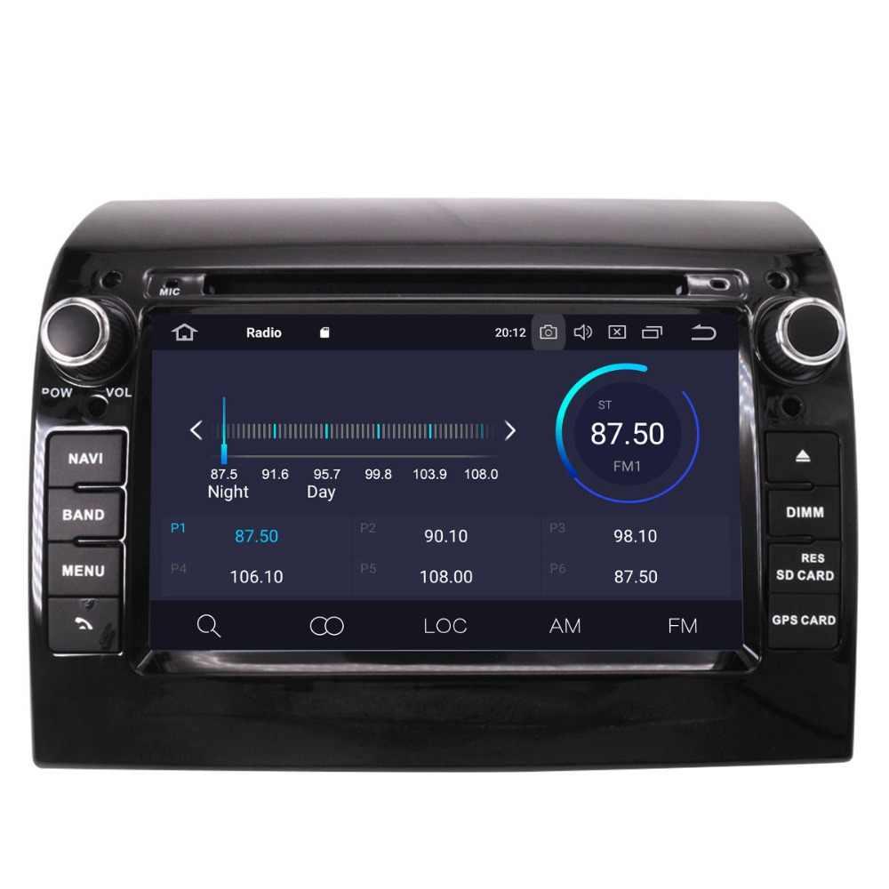 Ips экран Android 9,0 автомобильное радио для FIAT Ducato Jumper Boxer 2011-2015 gps навигация CD DVD плеер 1080*600 Восьмиядерный головного устройства