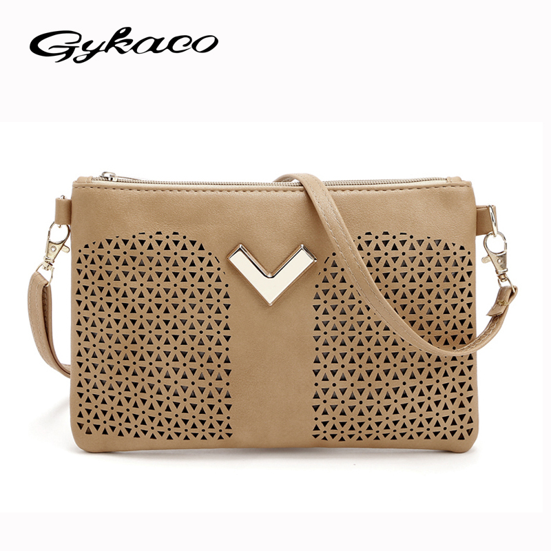 2018 New Brand designer women small messenger bag PU leather solid color shoulder bag fashion vintage girls evening party bag
