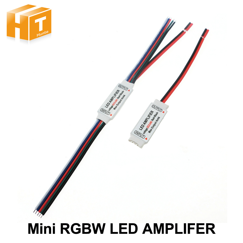 RGBW LED Amplifer DC5-24V 4A * 4 Channel LED Amplifier For RGBW LED Strip Power Repeater Console Controller.
