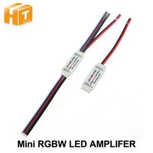 Image 1 - RGBW LED Amplifer DC5 24V 4A * 4 ช่องLED AmplifierสำหรับRGBW LED Strip Power RepeaterคอนโซลController.