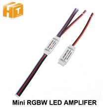 RGBW LED Amplifer DC5 24V RGBW LED 스트립 전원 리피터 콘솔 컨트롤러에 대 한 4A * 4 채널 LED 앰프.