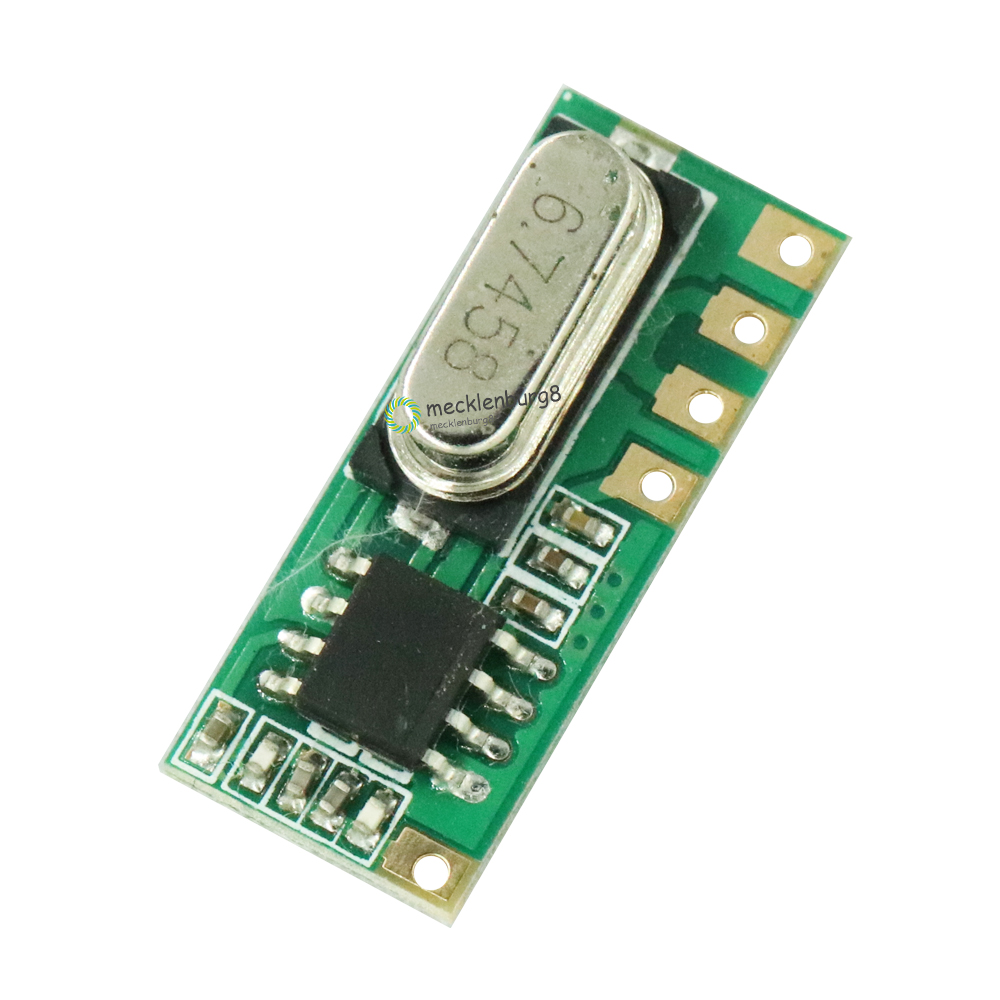LR45B 433 MHz Wireless RF Remote Receiver Module DIY Module Electronic Receivers LR45B-433M ASK 115dBm