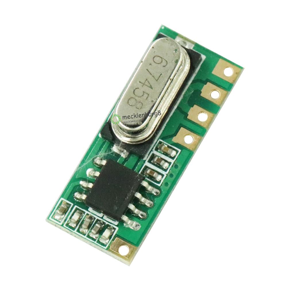 LR45B 433 MHz Wireless RF Remote Receiver Module DIY Module Electronic Receivers LR45B-433M ASK 115dBm
