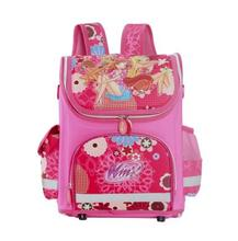 2016 School Bag Orthopedic Girls Princess Wink Children School Bags The First Monster High School Backpack Mochila Infantil