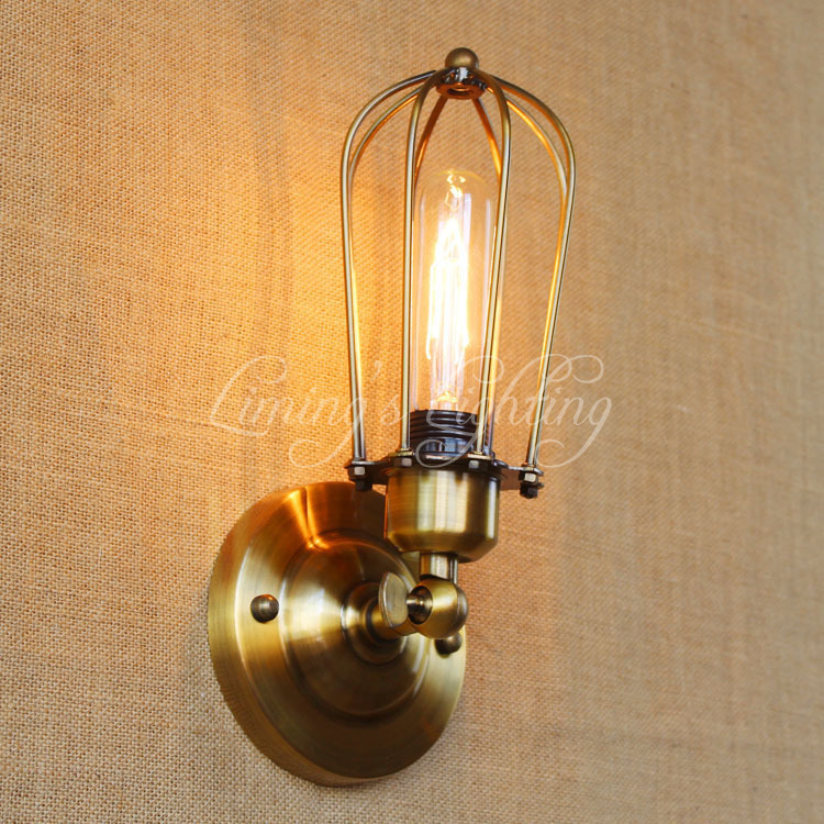Vintage Wall Lamp Retro Wall Light Loft Luminaire Home Lighting Industrial Wall Sconce Modern 220V Light Fixtures Abajur Lustre modern wall sconce light fixtures lustre home lighting k9 crystal wall lamp industrial lamps vintage