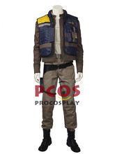 Rogue One: A Star Wars Story Cassian Andor Coaplay Costume & Shoes mp003533