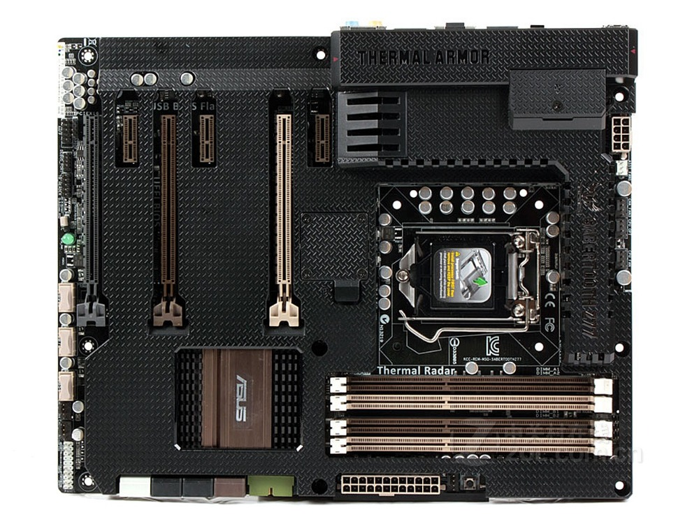 Motherboard original para ASUS SABERTOOTH LGA 1155 USB3.0 Z77 DDR3 placas 32 GB Z77 Desktop motherborad