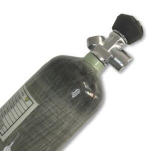 Image 2 - AC10331 3L 4500PSI En Fiber De Carbone De Cylindre De Réservoir pour Tir Pistolet À Air Chasse Paintball/PCP Carabine À Air Avec Valve de Tir