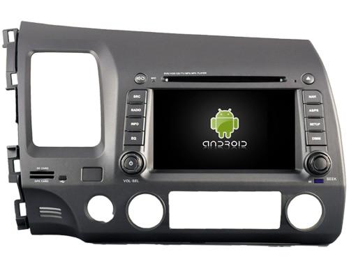 Android 8.1.0 2 gb lettore DVD dell'automobile per Honda Civic 2006-2011 gps navi radio stereo headunit multimedia nastro registratore a nastro registratore