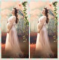 Maternity Photography Props Gown Lace long Dress Pregnant Photo Shoot Pregnancy photography clothing photographie grossesse