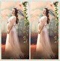 Sessão de Fotos Adereços Fotografia Vestido de Renda longo Vestido de maternidade Grávida Gravidez roupas fotografia photographie grossesse