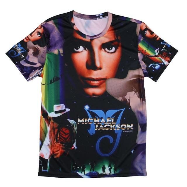 61d123225 Men Michael Jackson Rock Print T-shirts The Big Bang Theory Sheldon Retro  Blusas Summer Style T Shirts Euro Size Tshirts Tees
