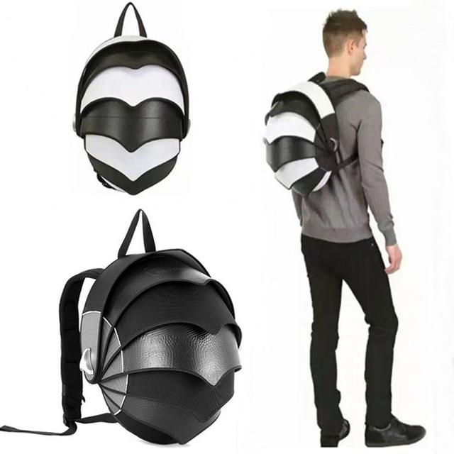 d6ccfa1c0d Rock biker riding backpack helmet bag motorcycle riding backpack trendy pangolin  backpack