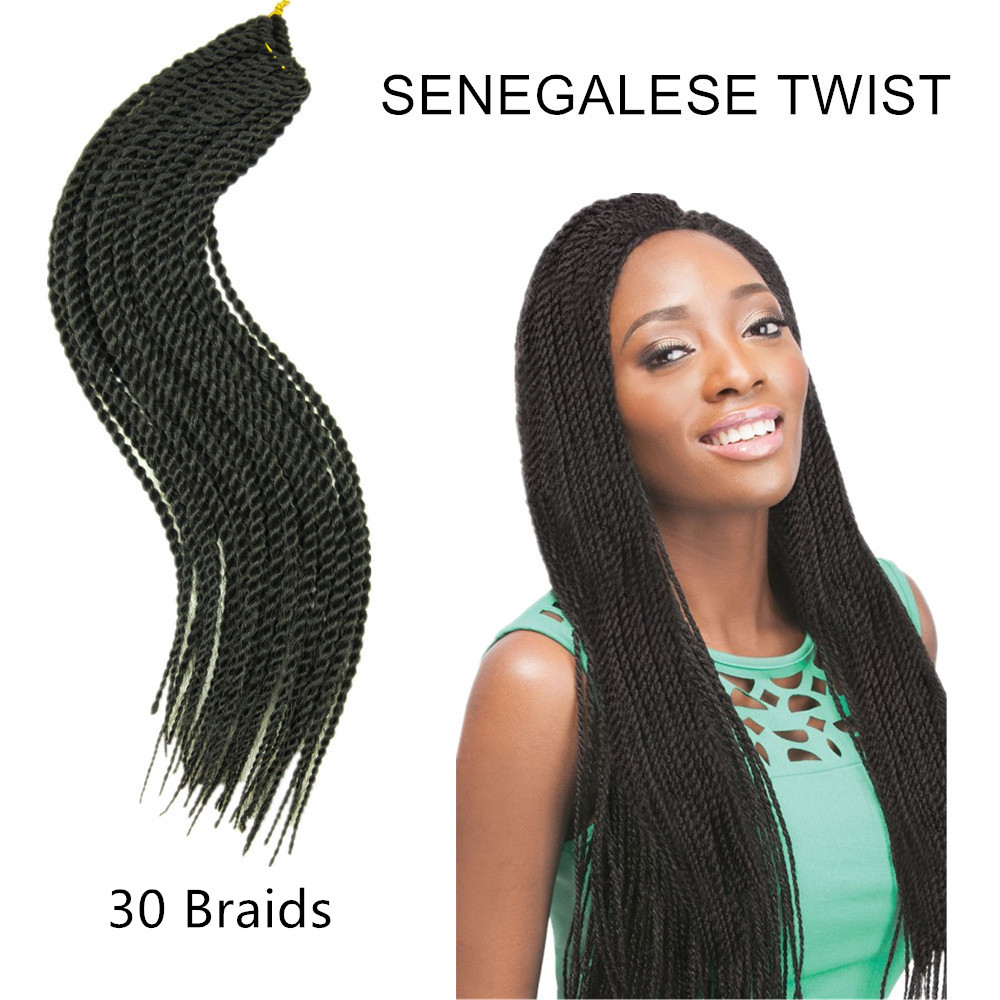 Hot 5 Bundles Medium Length 18 Quot Senegalese Twist Senegal