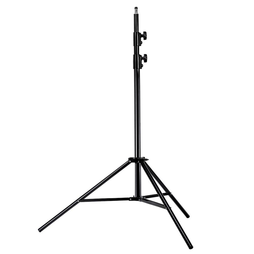 Neewer Photo Studio Pro 260 centimètres Support de Lumière en Alliage d'Aluminium et Pince de Porte-Réflecteur en Métal pour Réflecteurs pour Photo Vidéo Photographie de Portrait