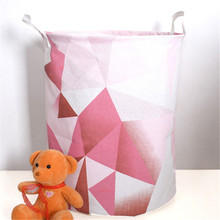 Large Laundry Basket Dirty Clothes Hamper Storage Bag 40*50 cm Foldable laundry bag For Toy Wash Cloth Sundries Laundry Bucket