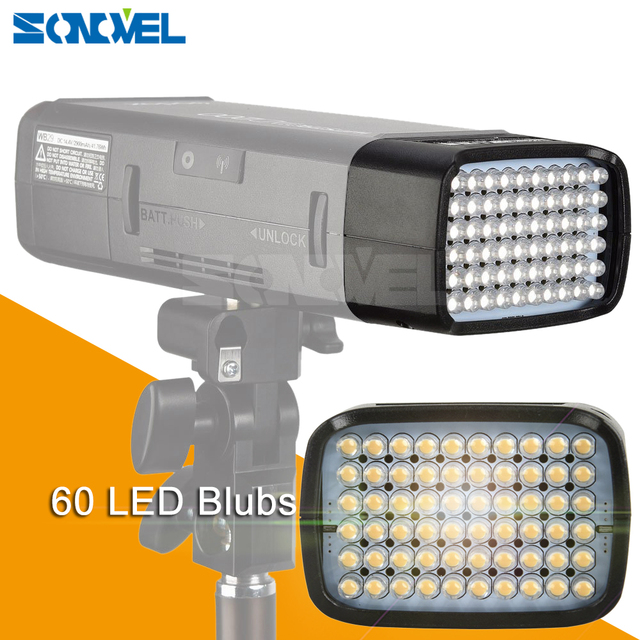 Godox AD-L LED Light Head Dedicated for AD200 Portable Outdoor Pocket Flash Accessories 60PCS LED Lamp for Camera DSLR Flash