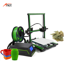Anet E10 Semi Assembled Metal Frame Stampante 3d Alta Precisione Digital Printing Machine 0.4mm Nozzle Size Cura PLA 3d Printer
