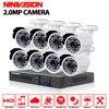 8CH CCTV System 1080P DVR 8PCS 3000TVL IR Weatherproof 2 0mp Outdoor Video Surveillance Home Security