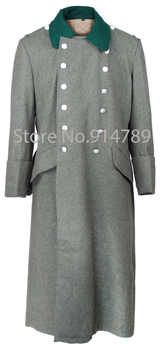 WWII GERMAN WH M36 FIELD GREY WOOL GREATCOAT COAT -31736 - DISCOUNT ITEM  0 OFF All Category