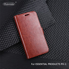 HUDOSSEN For Essential Products PH-1 A11 Case Luxury Flip PU Leather Phone Case For Essential Phone PH1 Book Style Stand Cover