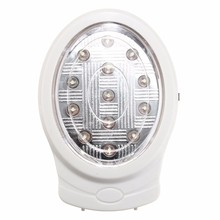 High Quality 2W 13 LED Rechargeable Home Emergency Light Automatic Power Failure Outage Lamp Bulb Pure White 110-240V