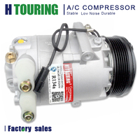CVC Auto ac compressor for Car Volkswagen Golf/Parati/Saveiro 1.8 1.6 02 5X0820803C 5X0820803D 06562017 10045 6PK 12V R 134a