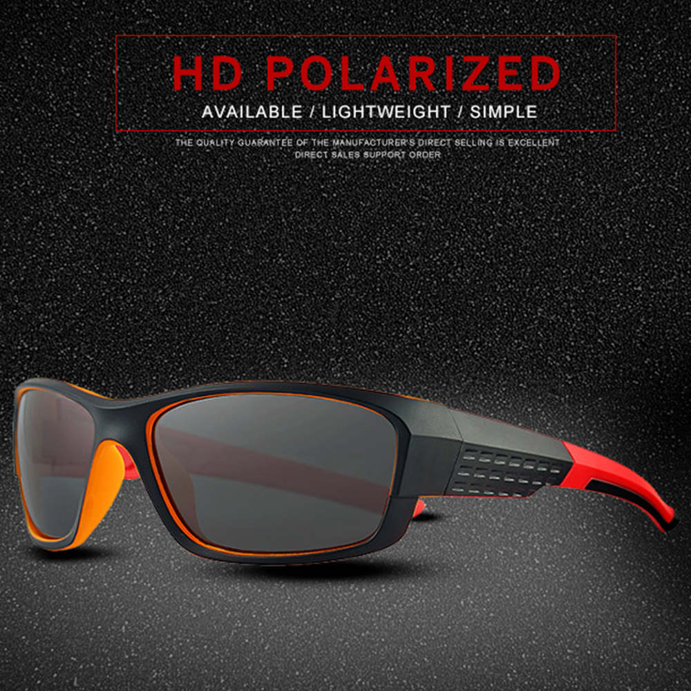 Classic Sports Black/ Frame Short Sight Sun Glasses Polarized Sunglasses Custom Made Myopia Minus Prescription Lens -1 To-6