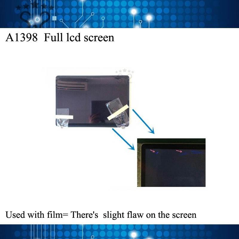 Utilisé Original A1398 lcd Full assemblée d'écran pour Macbook Pro Retina 15