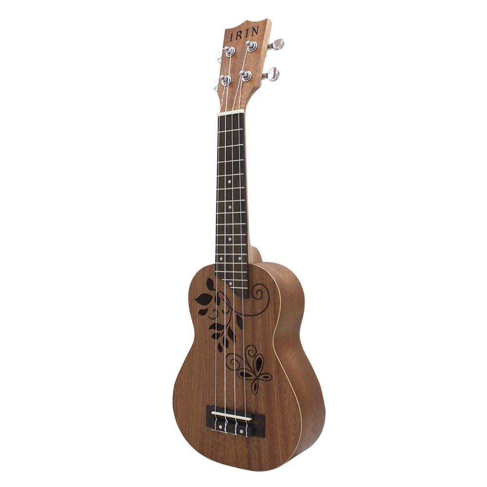 New IRIN 21 inch Ukulele Sapele Wood Ukelele Uke Kit