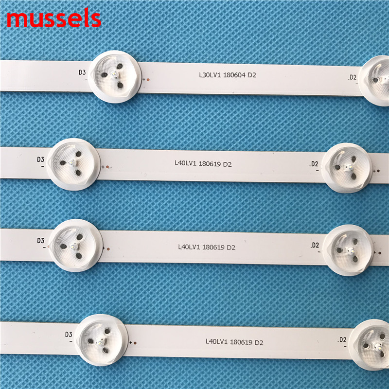 "Image 3 - LED Backlight strip For LG 50"" inch TV 10Lamp 1000mm 50LN5400 50LA620V 6916L 1276A 6916L 1273A 6916L 1272A 6916L 1241A-in Industrial Computer & Accessories from Computer & Office"