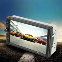 New Car Styling 7 Inch Screen TF Card Doule Din Bluetooth DVD Player High Quality Auto