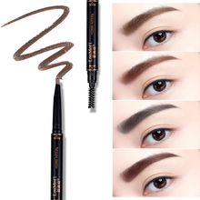 Loumesi eyebrow  Long-lasting Eyebrow Pencil Waterproof Longlasting Make up Black Brown Eyebrow Pencil Eye Brow Liner eyemakeup